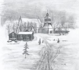 Vintervägen Kx kyrka